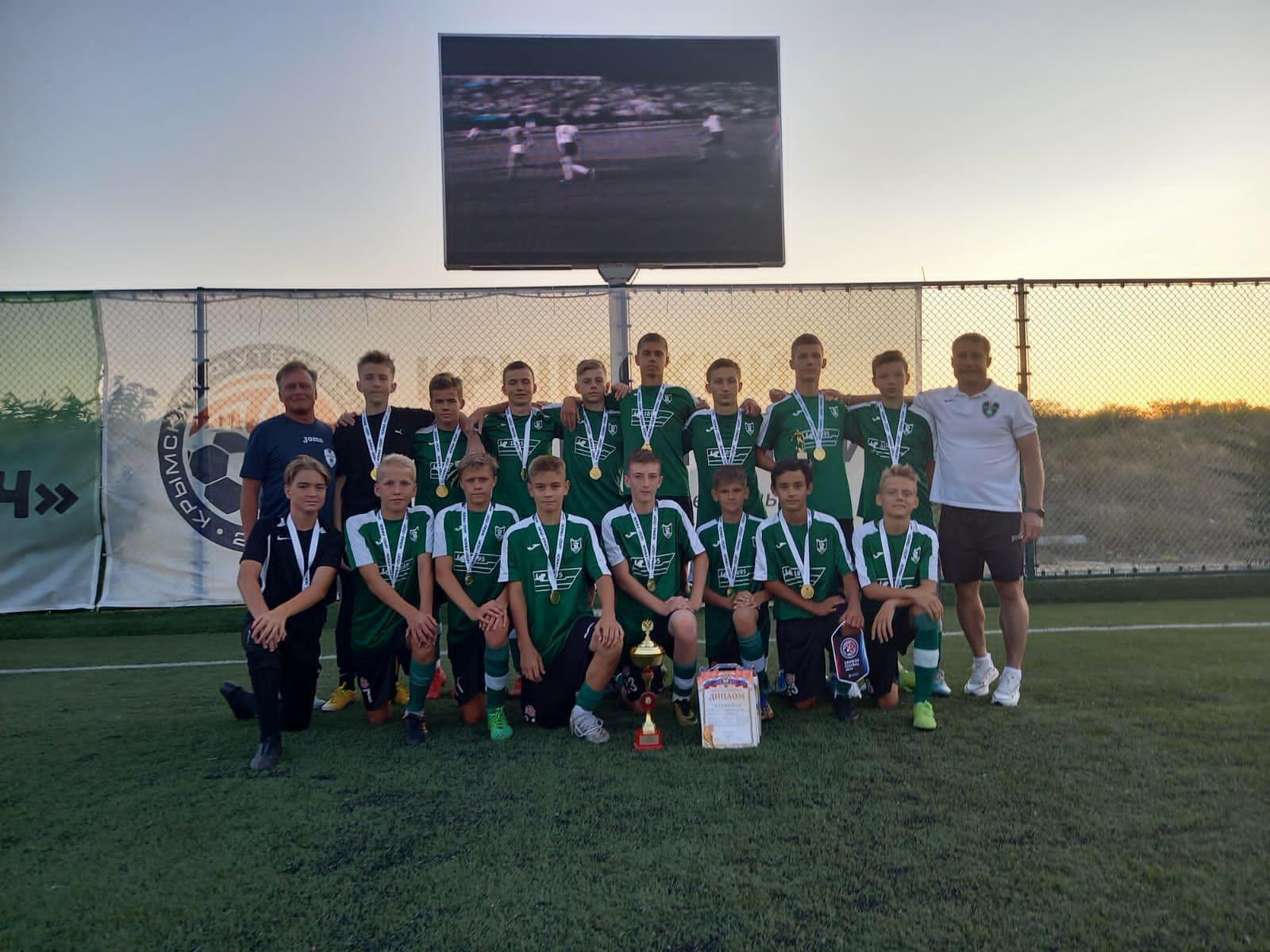 Команда «СШ №3» Зеленодольск выступит в суперфинале «Кожаного мяча»
