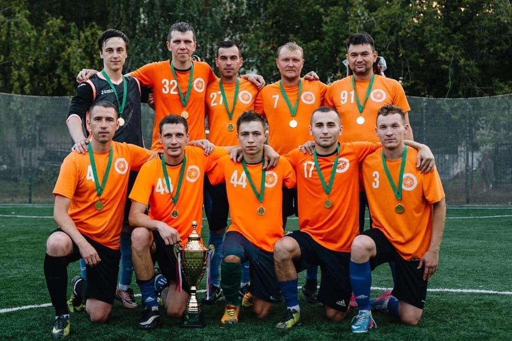 В Зеленодольске завершился любительский турнир по футболу