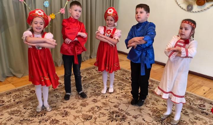 В детском саду «Чишмә» воспитанников учат уважению к народным традициям