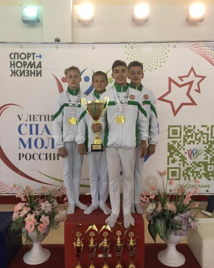 Юные зеленодольцы успешно выступили на V летней Спартакиаде молодежи России по спортивной гимнастике